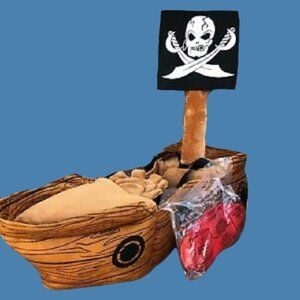 Baby Boutique Kids Pirate Ship Captain 3-D Ride In